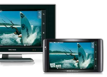 archos 101 tablet tv sm ARCHOS 101   Tablet That You'll Be Proud To Own