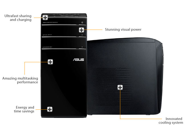 ASUS Essentio Desktop PC CM6870