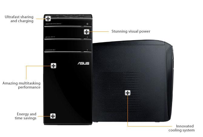 ASUS Essentio Desktop PC CM6870