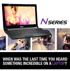 When Was The Last Time You Heard Something Incredible on a Laptop?