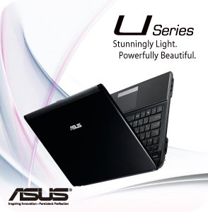 U31Jg A1 mainimage ASUS UL30VT X1K: ASUS UL30Vt X1 Thin and Light 13.3 Inch Black Laptop (11 Hours of Battery Life)