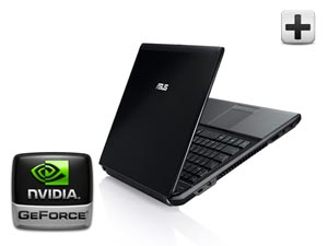 U31jg nvidia S ASUS UL30VT X1K: ASUS UL30Vt X1 Thin and Light 13.3 Inch Black Laptop (11 Hours of Battery Life)
