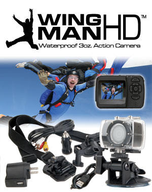 What's Included with the WingmanHD Camera