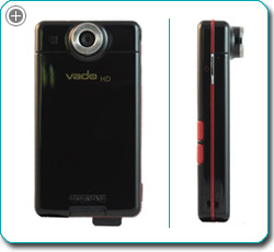 Take high-definition video anywhere with just a push of a button