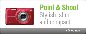 Point & Shoot: Stylish, slim and compact.