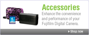 Accessories: Enhance the convenience and performance of your Fujifilm Digital Camera.