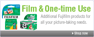 Film & One-time Use: Additional Fujifilm products for all your picture-taking needs.