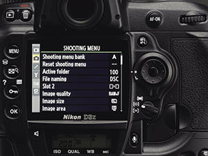 D3X LCD Display