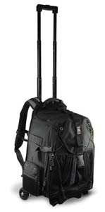 This is a picture of the bag with the handles extended