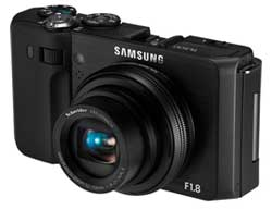 Samsung TL500 10 Megapixel Rotating LCD Digital Camera (Black) Product Shot