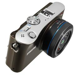 Samsung NX100 14.6-Megapixel Interchangeable Lens Digital Camera product shot