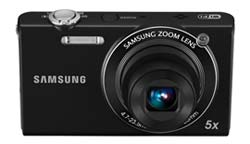 Samsung SH100 14-Megapixel Wi-Fi Digital Camera product shot