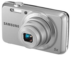 Samsung ES80 12.2 Megapixel Compact Digital Camera (Silver) Product Shot