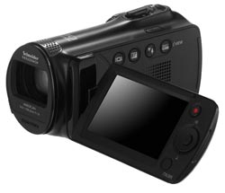 F50 Flash Memory 52x Zoom Camcorder Product Shot