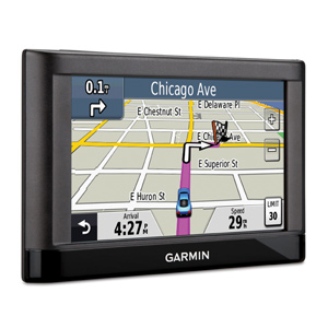how to change map on garmin nuvi 1300