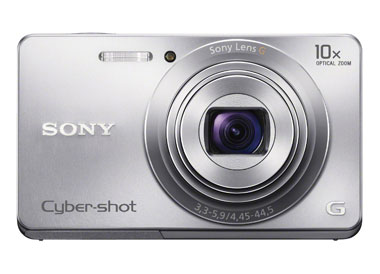 Sony Cyber-shot DSC-W690 16.1 MP Digital Camera with 10x Optical Zoom