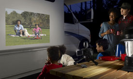 Projector Campsite