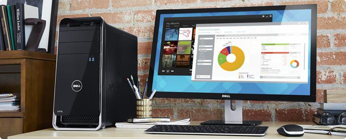 Dell XPS 8700 Performance Desktop: Keep your standards high.