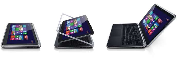 Dell XPS 12 Ultrabook™ Convertible: The winning touch.