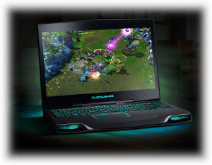 Alienware M14x Gaming Laptop: Game victorious wherever you go.
