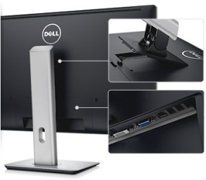 Dell p2714h ips 27 inch screen led lit monitor for Ecran ips 27