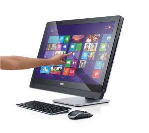 The new XPS™ 27 All-in-One with Quad HD touch display