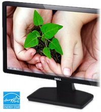 Dell IN2030M 20-inch HD Monitor: Picture an environmentally conscious world.