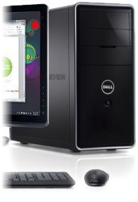 Dell Inspiron 660 Desktop: Power and connectivity.