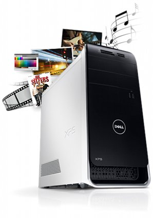 XPS USB Turbo Boost Photo Gallery PC Microsoft Office Transitional John Garcia Home Premium HD Genuine Windows Generation Intel Quad Core Gen Intel Core Gen Core GB Testimonials : Dell XPS X8500 6842WT Desktop (Black) ® Dell just click here buddy dell