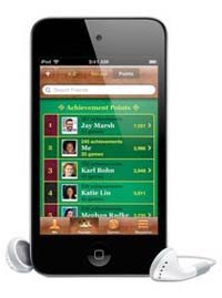 iPod touch Game Center