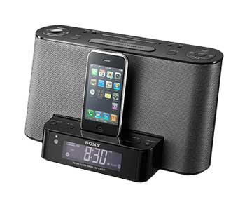 B002OB4BK8 1 Sony ICFCS10iP Speaker Dock with Alarm Clock and Radio for iPod/iPhone (Black)