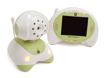 Motorola MBP35 Digital Wireless Video Baby Monitor