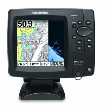 Humminbird 408120-1 Fishfinder 597ci HD DI Combo Reviews