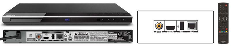 BDX2150 Blu-Ray Disc Player