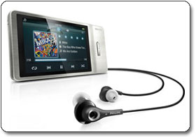 Philips GoGear Muse 16 GB MP3 Player (Silver) SA2MUS16S/17
