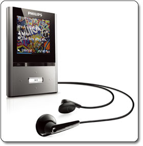 Philips GoGear Vibe 4 GB MP3 Player (Gunmetal)SA2VBE04K/17