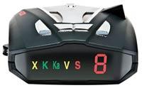 Cobra XRS 9470 Display