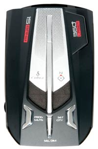Phát hiện Cobra XRS 9970G Voice Alert 15 Band Radar and Laser Detector
