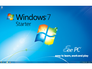 Comes with Win 7 Starter