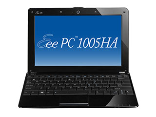 1005ha bk screen ASUS Eee PC 1005HA PU1X BK 10.1 Inch Black Netbook