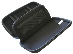 Interior of Carrying Case