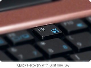 Quick Recovery with Just One Key