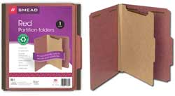 Smead 100% Recycled Classification Folders 13746