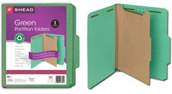 Smead 100% Recycled Classification Folders 13749