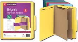 Smead 100% Recycled Classification Folders 14049
