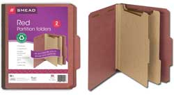 Smead 100% Recycled Classification Folders 14054