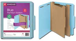 Smead 100% Recycled Classification Folders 14056