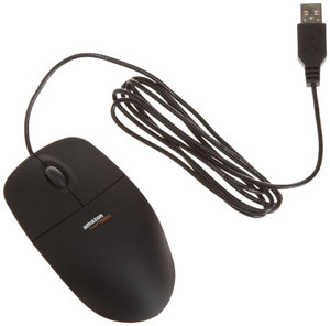 AmazonBasics wired USB mouse