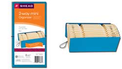 Smead 2-Way Mini Organizer 70636