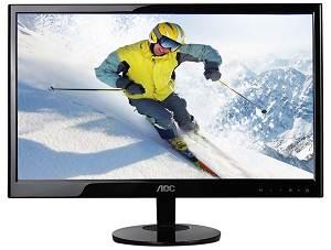 AOC e2051Sn 20-Inch Class LED Backlit Monitor